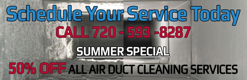 Summer Air Duct Cleaning Special